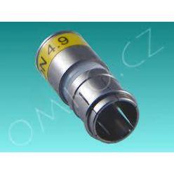 Lisovací rychlo konektor Cabelcon CX3 - 4,9 Short (6,5mm)