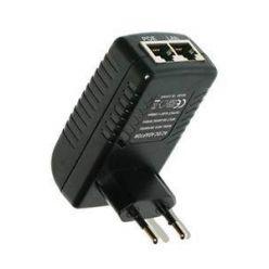 Pasivní POE injektor 12V/0.85A se zabudovaným zdrojem z 230V