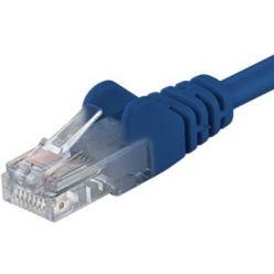 Patch kabel UTP RJ45-RJ45 level CAT6, 1,5m, modrá