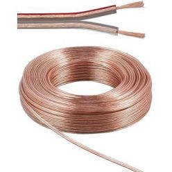 PremiumCord Kabely na propojení reprosoustav 99,9% měď 2x0,75mm2 50m