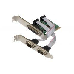 EVOLVEO Serial RS232 & LPT PCIe, rozšiřující karta