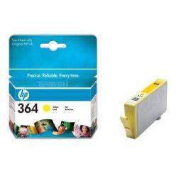 HP CB320EE, žlutá cartridge č.364