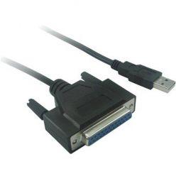 PremiumCord redukce kabelová, USB2.0 - LPT Paralelní port