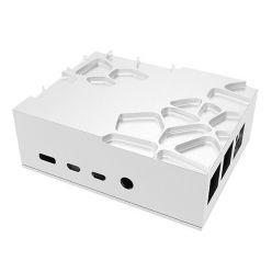 AKASA skříň Gem Pro pro Pi-4 / A-RA09-M2S / pro Raspberry Pi 4 Model B / stříbrná