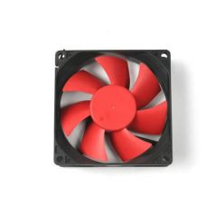 THERMALTAKE A2367 80mm Sleeve Bearing Fan  (Black Frame, Red Blade)