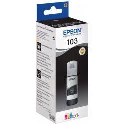 Epson 103 EcoTank černá inkoustová lahvička, 65ml