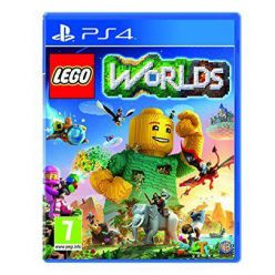 PS4 hra LEGO Worlds