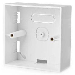 NEDIS zadní skříň pro chytré spínače/ povrchová montáž/ 86 x 86 mm/ bílá