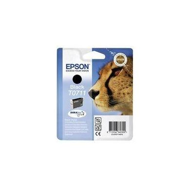 Epson T0711 černá inkoustová cartridge, 7.4ml, C13T07114010