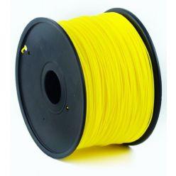 GEMBIRD 3D ABS plastové vlákno pro tiskárny, průměr 1,75mm, 1kg, žlutá