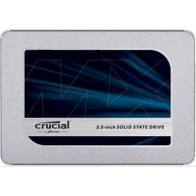 "Crucial MX500 - 500GB, 2.5"" SSD, TLC, SATA III, 560R/510W"
