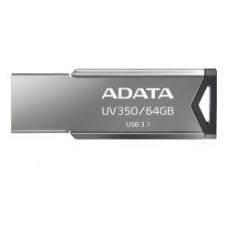 ADATA UV350 64GB flash disk, USB 3.0 stříbrný