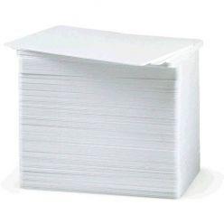 Karta Plastová karta bílá