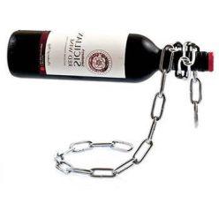 AIREN AiWine Chain bottle - stojan na víno řetěz
