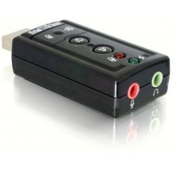 DeLock USB audio adaptér Virtual 7.1