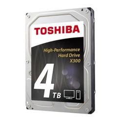 """Toshiba X300 - 4TB, 3.5"""" HDD, 7200rpm, 128MB, SATA III, bulk"""