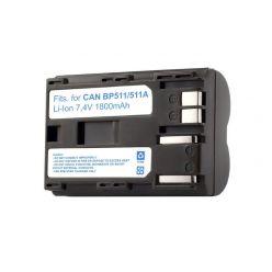 TRX baterie Canon/ 1800 mAh/ pro EOS D30/ D60/ 10D/ 20D/ 30D/ 40D/ 50D/ 5D DM-MVX1i/ DM-MV30/ neoriginální