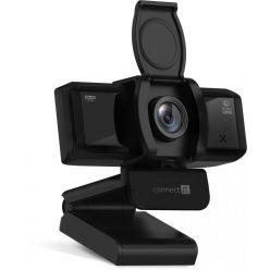 CONNECT IT WebYouSee, webkamera, 1920x1080px, 30FPS, 90°, USB, černá