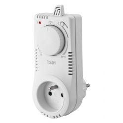 ELEKTROBOCK Elektronický termostat TS01, Spíná až 16A-3680W, Reguluje v rozmezí 3C až 28C