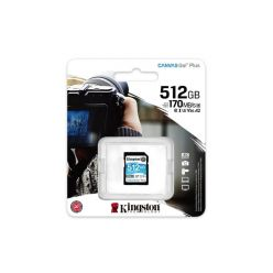 Kingston Canvas Go! Plus 512GB SDXC karta, UHS-I V30, 170R/90W