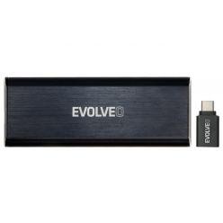 EVOLVEO Tiny N1, 10Gb/s, M.2 (PCIe) externí rámeček, USB A 3.1