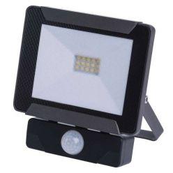 Emos Reflektor LED 10W/85W IDEO s PIR, NW neutrální bílá, IP54, 800 lm