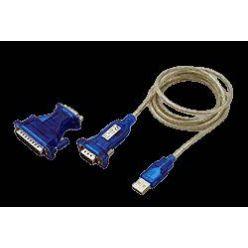 Adaptér USB -> 1x RS232 (MD9), kabel 1,8m + redukce FD9/MD25