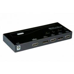 Roline HDMI / DisplayPort přepínač 4:1
