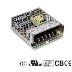 MEANWELL • LRS-50-24 • Průmyslový napájecí spínaný zdroj uzavřený 24V 50W