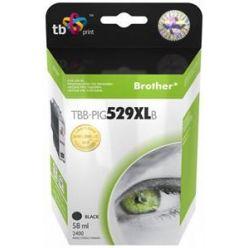 TB náhrada za Brother LC529 a LC539, černá, 58ml