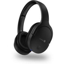 CONNECT IT CHP-0500, bluetooth sluchátka s mikrofonem, černá
