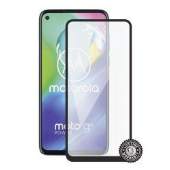 Screenshield MOTOROLA Moto G8 XT2045 Tempered Glass protection (full COVER black)