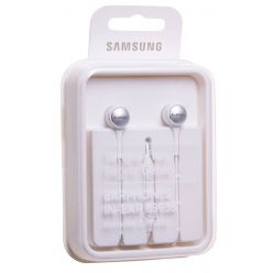 Samsung sluchátka s mikrofonem do uší, bílá