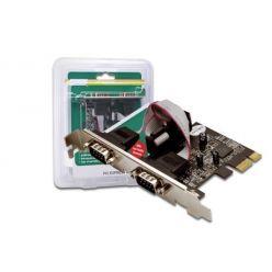 Digitus DS-30000-1, sériový řadič, 2x COM port, low profile, PCIe x1