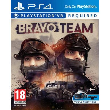 PS4 VR hra Bravo Team