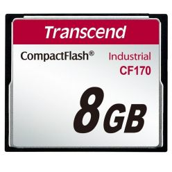 TRANSCEND 8GB Industrial Compact Flash Card CF170, MLC
