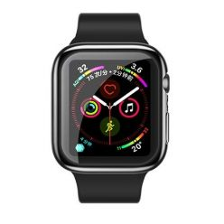 USAMS BH486 TPU Full Protective Pouzdro pro Apple Watch 44mm Transparent