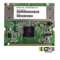 Compex WLM200NX miniPCI, 100mW, 802.11a/b/g/n, 2,4GHz a 5GHz, MIMO, 2xU.FL