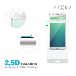 Ochranné tvrzené sklo FIXED Full-Cover pro Motorola Moto G5S, přes celý displej, bílé, 0.33 mm