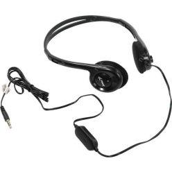 Genius HS-M200C, sluchátka s mikrofonem, 1x 3.5mm jack