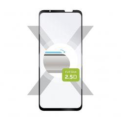 Ochranné tvrzené sklo FIXED Full-Cover pro Asus ROG Phone 5s, lepení přes celý displej, černé