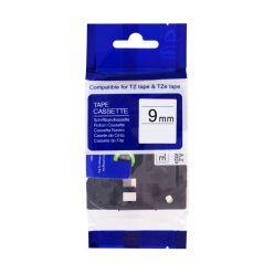 PRINTLINE kompatibilní páska s Brother TZE-421, 9mm, černý tisk/červený podklad