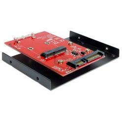 "Delock adaptér SATA 22 pin > mSATA s 3.5"" rámečkem"