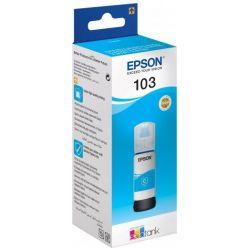 Epson 103 EcoTank azurová inkoustová lahvička, 65ml