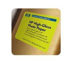 """HP 1067/30.5m/Universal High-gloss Photo Paper, 1067mmx30.5m, 42"""", role, Q1428A, 190 g/m2, foto papír, vysoce lesklý, bílý, pro i"""