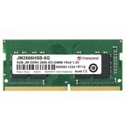 Transcend JetRam 8GB DDR4 2666MHz CL19 1Rx8 SO-DIMM