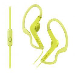 SONY MDR-AS210AP Sportovní sluchátka s klipem + ovladač pro telefon - Yellow