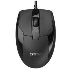 Crono CM645- optická myš, černá, USB