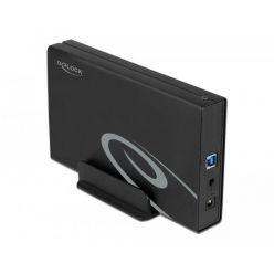 "Delock externí box na 3.5"" SATA disk, USB 3.0, hliníkový"