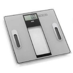 ADE GERMANY Osobní váha s analyzátorem těla BA 1300 Tabea silver / black